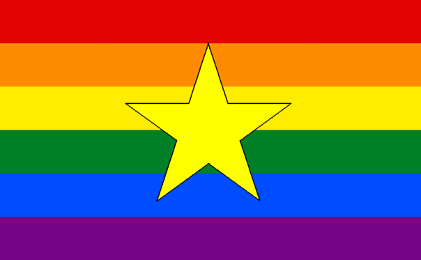 Rainbow Vietnam flag