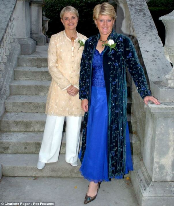 Claire Balding Civil Partnership